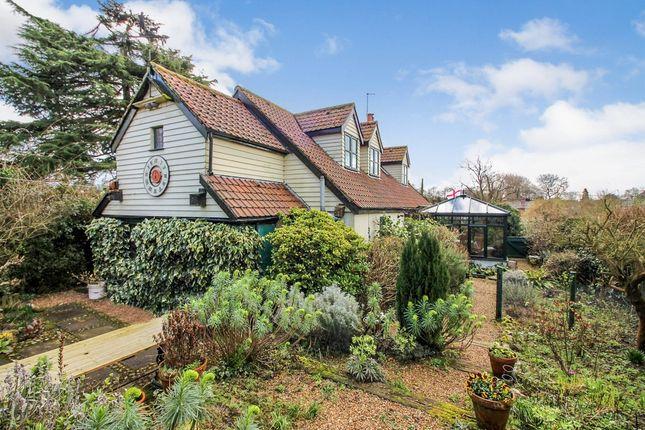 Thumbnail Detached house for sale in Shotesham Lane, Saxlingham Nethergate, Norwich