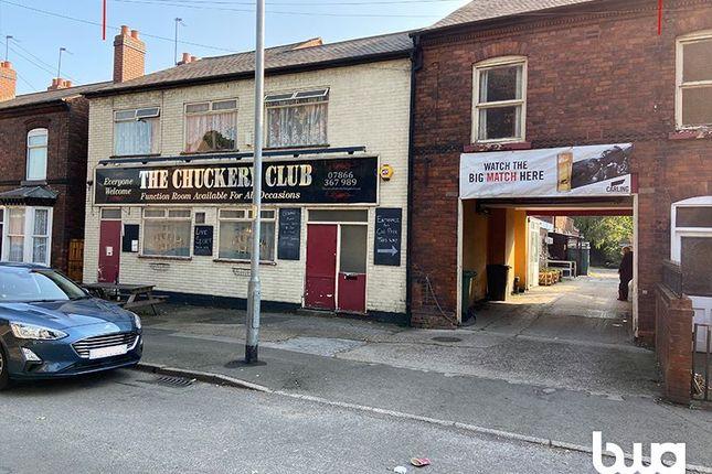Thumbnail Pub/bar for sale in The Chuckery Club, 42 Beacon Street, Walsall