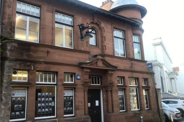Thumbnail Office for sale in 42 Bank Street, Kilmarnock
