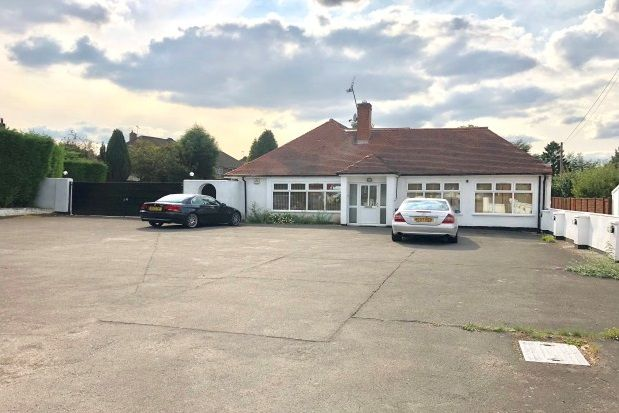 Thumbnail Detached bungalow to rent in Leicester Road, Wigston