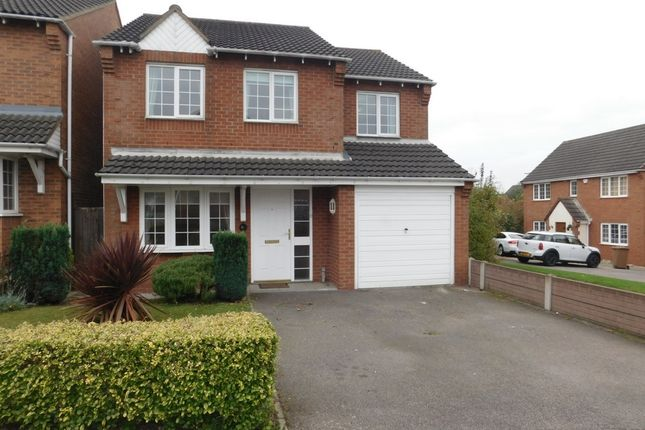 Thumbnail Detached house for sale in Hunt Way, Swadlincote