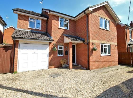 Thumbnail Detached house for sale in College Road, Sandhurst