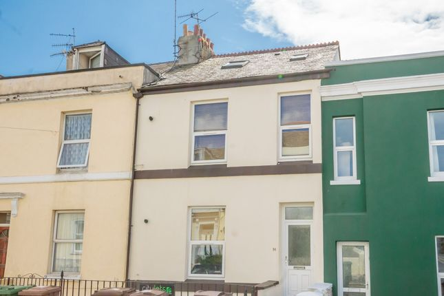 Thumbnail Flat to rent in Radnor Street, Plymouth