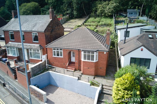 Thumbnail Bungalow for sale in Clayton Road, Newcastle, Staffordshire
