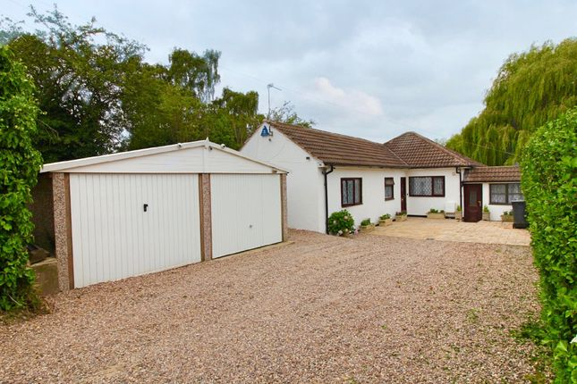 Thumbnail Detached bungalow for sale in Station Road, Thurnby, Leicester