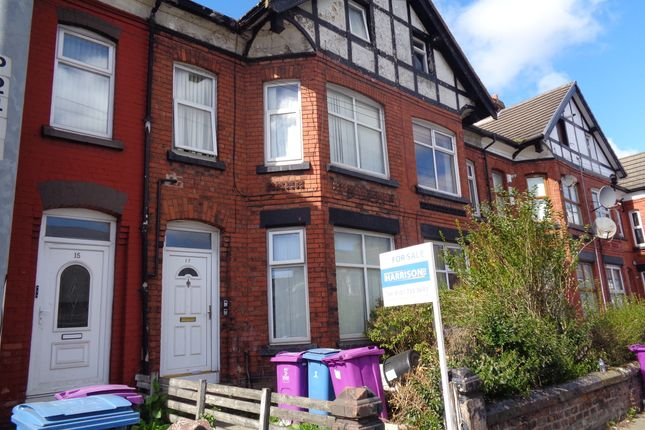 Thumbnail Terraced house for sale in Rathbone Road, Liverpool