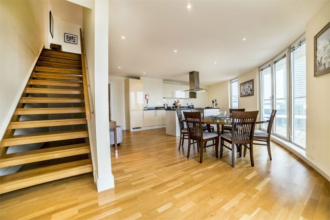 Thumbnail Flat for sale in Trinity Tower, 28 Quadrant Walk, London