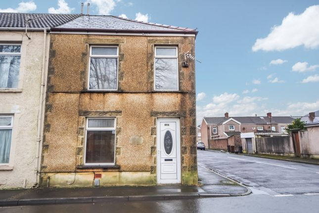 3 bed end terrace house for sale in Villiers Street, Port Talbot SA13