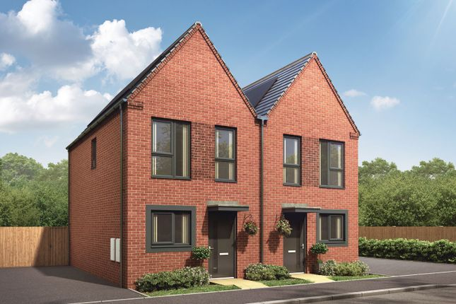 """Semi-detached house for sale in """"The Severn"""" at Showell Road, Wolverhampton"""