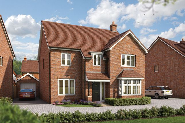 """Thumbnail Detached house for sale in """"The Birch"""" at Maddoxford Lane, Botley, Southampton"""