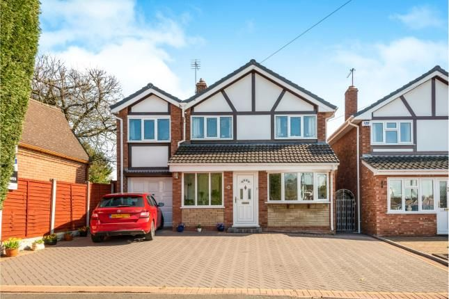 Thumbnail Detached house for sale in Waveney Grove, Cannock, Staffordshire