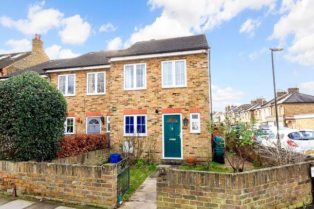Thumbnail End terrace house to rent in Windmill Road, Hampton Hill