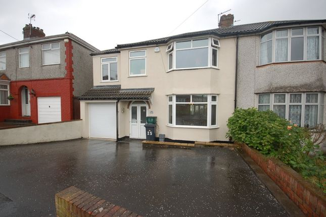 Thumbnail Semi-detached house for sale in Elm Road, Kingswood, Bristol
