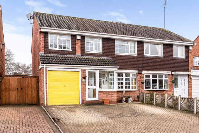 Thumbnail Semi-detached house for sale in Granby Close, Redditch, Worcestershire