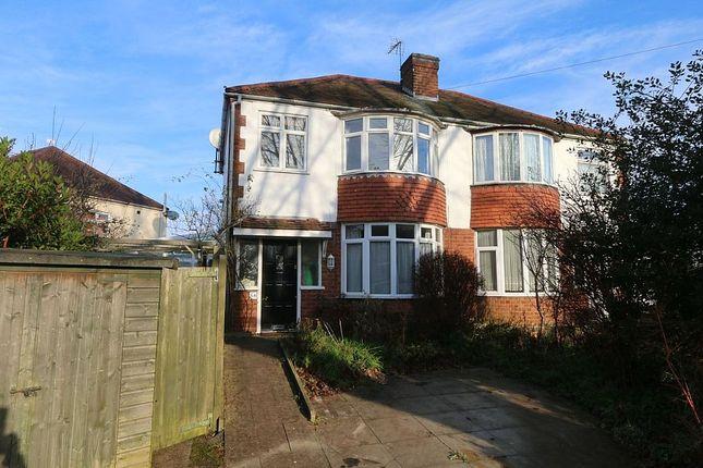 Thumbnail Semi-detached house for sale in Braemar Road, Leamington Spa, Warwickshire