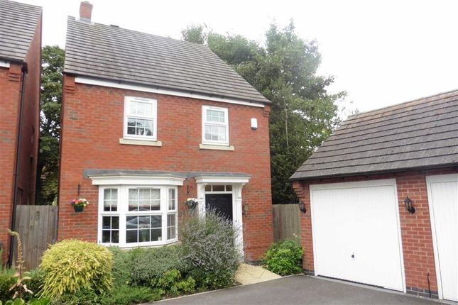 4 bed detached house for sale in Burgess Drive, Earl Shilton, Leicester