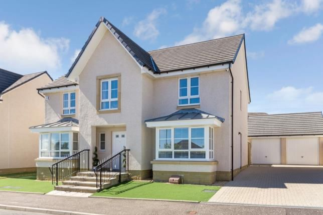 Thumbnail Detached house for sale in Balgownie Drive, Westerwood, Cumbernauld, North Lanarkshire