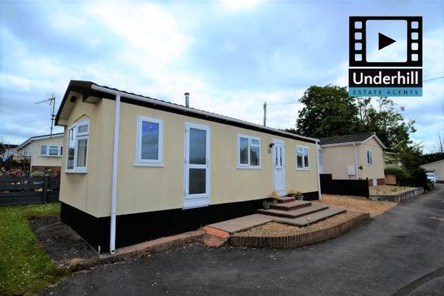Thumbnail Mobile/park home for sale in Drake Avenue, Ringswell Park, Exeter