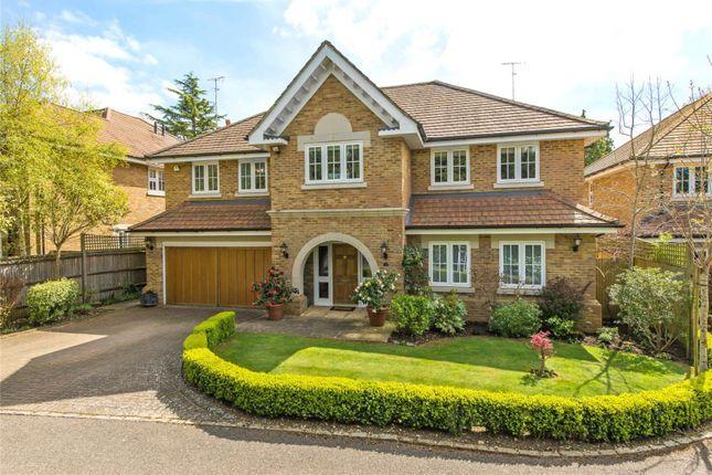Thumbnail Detached house for sale in Fernlea Place, Cobham, Surrey