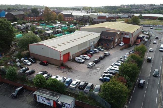 Thumbnail Industrial for sale in Premises At, Davenport Street, Stoke-On-Trent