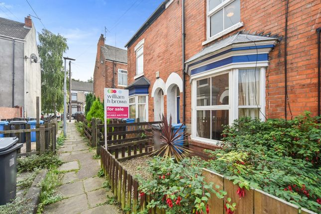 Thumbnail Terraced house for sale in Albert Avenue, Mayfield Street, Hull