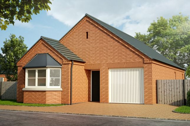 Thumbnail Detached bungalow for sale in Eastlands, Crowland