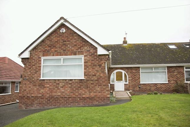 Thumbnail Semi-detached bungalow to rent in Seabank Road, Heswall, Wirral