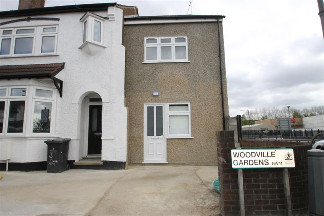 Thumbnail Terraced house to rent in Woodville Gardens, London