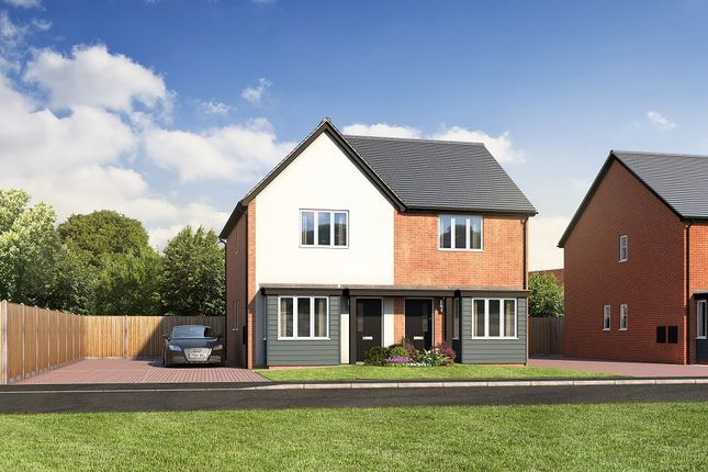 Thumbnail Semi-detached house for sale in Station Road, Ibstock