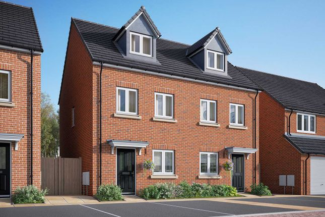 "3 bedroom semi-detached house for sale in ""The Wyatt"" at Poppy Drive, Sowerby, Thirsk"