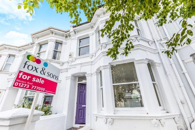 Thumbnail Terraced house for sale in Upper Hamilton Road, Brighton