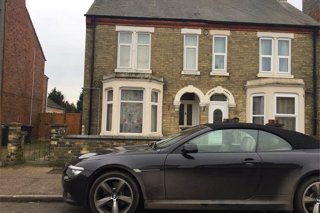 Thumbnail End terrace house to rent in Padholme Road, Peterborough