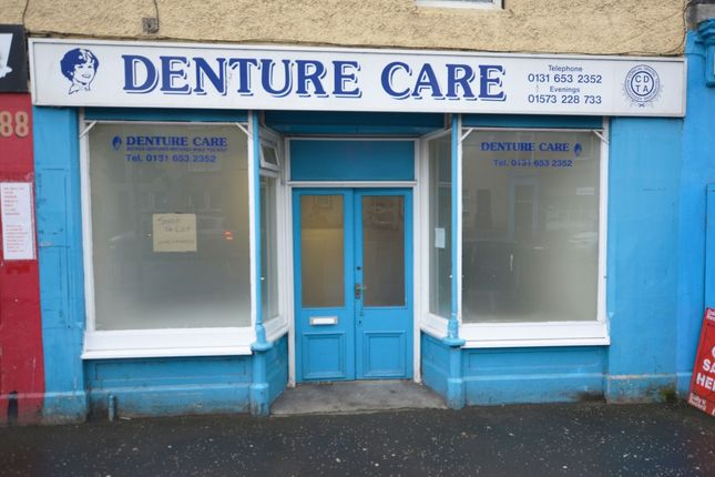 Thumbnail Commercial property to let in North High Street, Musselburgh, East Lothian