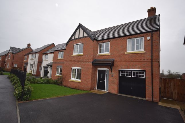 Thumbnail Detached house to rent in Meadow Fields, Rolleston-On-Dove, Burton-On-Trent