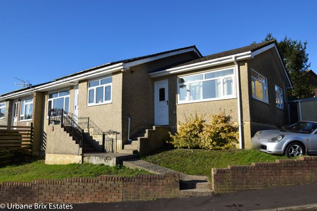 Thumbnail Semi-detached bungalow for sale in Mount Road Risca, Newport