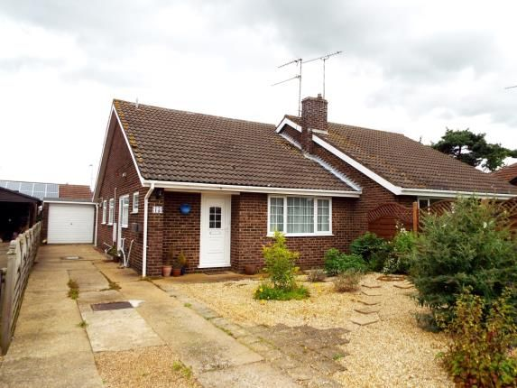 Thumbnail Semi-detached house for sale in Grimston, King's Lynn, Norfolk