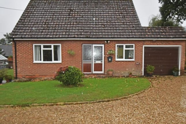 Thumbnail Detached bungalow for sale in Basingstoke Road, Ramsdell, Tadley