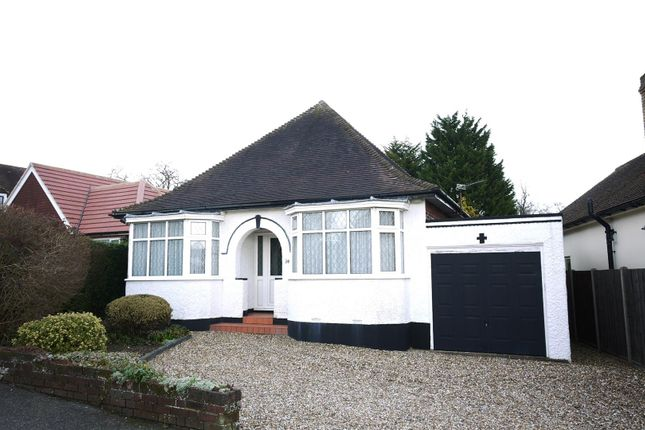 Thumbnail Detached bungalow for sale in King James Avenue, Cuffley, Potters Bar