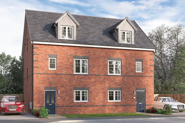 "Thumbnail 4 bed semi-detached house for sale in ""The Ulbridge"" at Alfreton Road, South Normanton, Alfreton"
