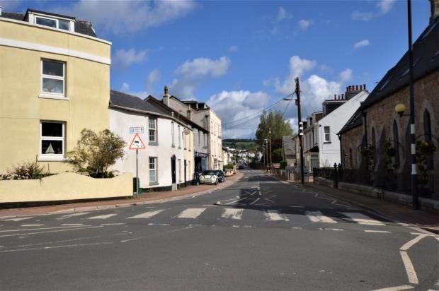 Outlook of Fore Street, Shaldon, Devon TQ14