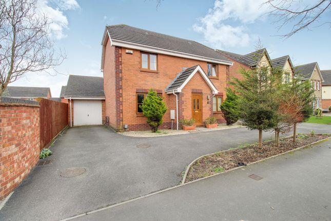 Thumbnail Detached house for sale in Morgraig Avenue, Coedkernew, Newport