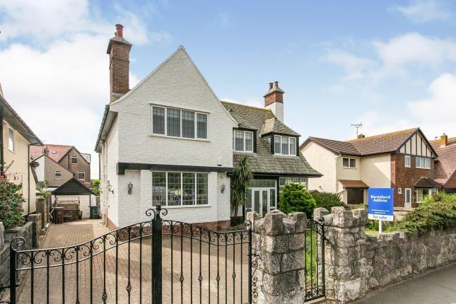 Thumbnail Detached house for sale in Gloddaeth Avenue, Llandudno, Conwy, North Wales