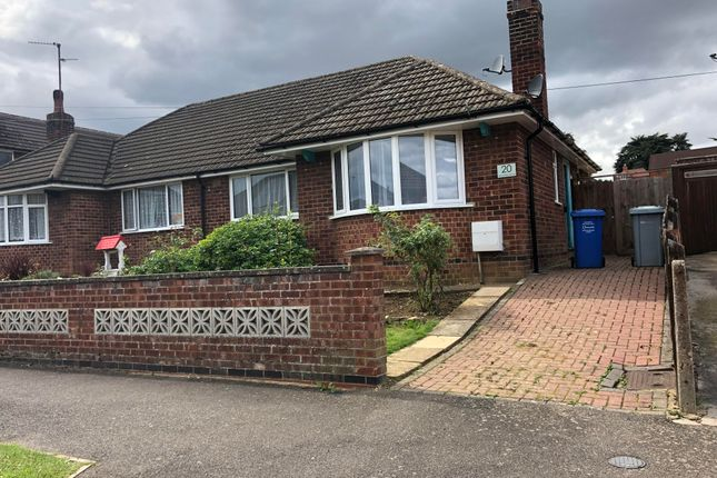 Thumbnail Bungalow to rent in Greenfield Avenue, Kettering