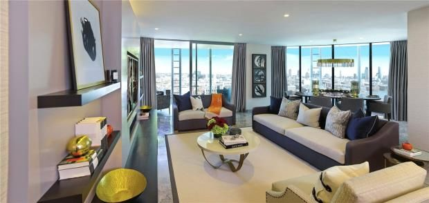 Thumbnail Flat to rent in One Blackfriars, Southbank
