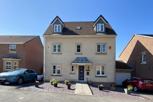 Thumbnail Detached house for sale in Awel Y Llyn, Heol Y Deri, Aberdare, Mid Glamorgan