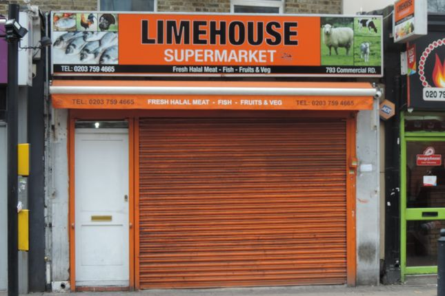 Thumbnail Land to rent in Eastern Section Of Commercial Road, Commercial Road Off Burdett Road