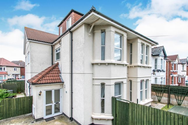 Thumbnail Semi-detached house for sale in Linwood Road, Winton, Bournemouth