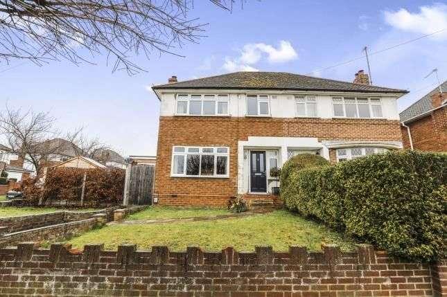 Thumbnail Semi-detached house for sale in Longmead, Letchworth Garden City, Hertfordshire, England