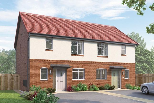 """3 bedroom semi-detached house for sale in """"The Appleton Semi"""" at Skinner Street, Creswell, Worksop"""