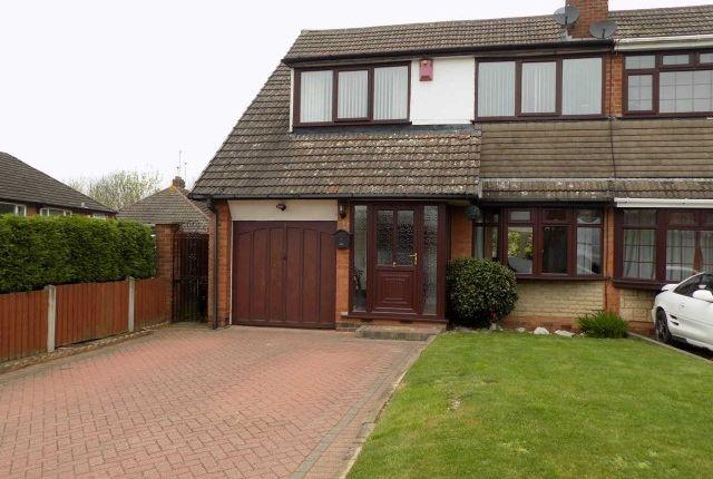 Thumbnail Semi-detached house for sale in Blythefield Avenue, Great Barr, Birmingham